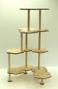 にゃんこタワーSサイズ5